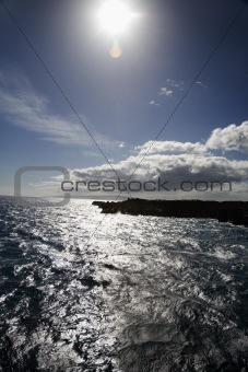 Maui, Hawaii coast.