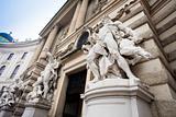 Hofburg pallace gate, Vienna, Austria.