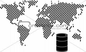 Oil barrel world