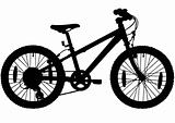 Childrens bike silhouette