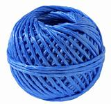 ball of a blue cord
