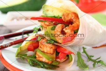 Asian Wrap