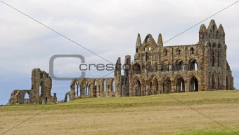 Ancient abbey on the coast