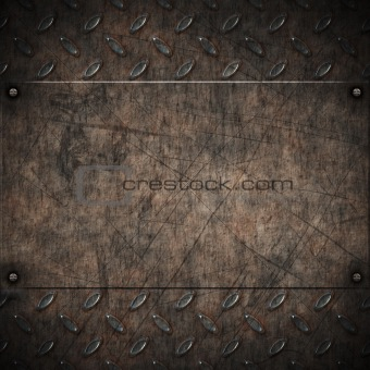 old grungy metal background