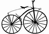 Boneshaker bike silhouette