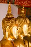 Gold Buddha in Thailand