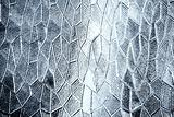 Pattern of grungy window glass background