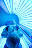 beauty and spa solarium treatment