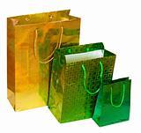 Three present bags