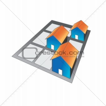 Houses block