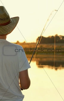 Evening fishing