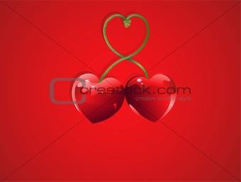 Valentine Cherry love