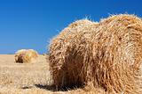 Wheat Haystacks