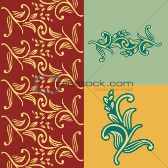 Classic nature pattern