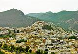 Moroccan Village On A Hill