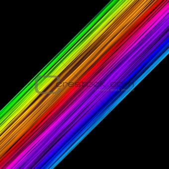 Abstract colourful lines