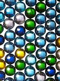 Abstract background from glass colour spheres