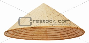 Asian conical hat