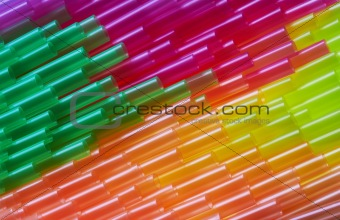 background of a cocktail straws