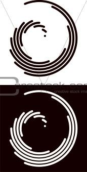 Circular swirls