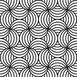 Black & white abstract design
