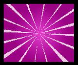 abstract purple star burst