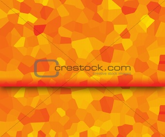 background in orange and yellow