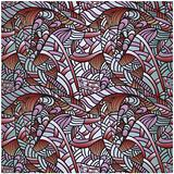 seamless floral  abstract pattern