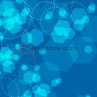 Abstract sparkling festive background