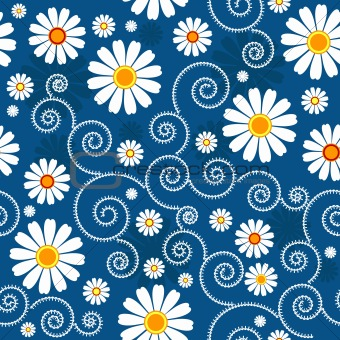 Vector of 'Modern floral pattern'