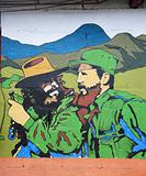 Che Guevara and El Castro