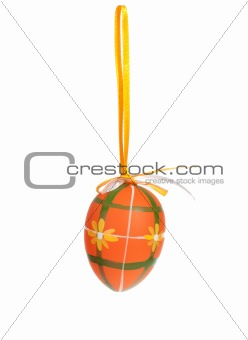 Painted Colorful Easter Egg