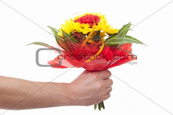 Bouquet of fresh flower