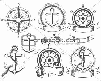 Nautical emblems