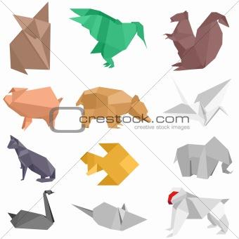 Origami Creatures