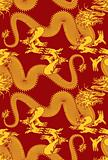 Seamless Dragon swatch pattern