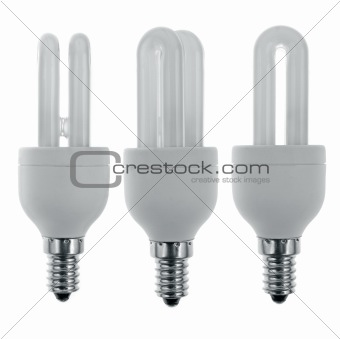 Three spare light bulbs