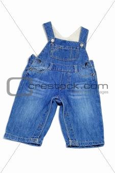 baby's denim overall