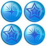 Buttons, stars