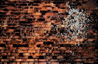 Grungy urban background. EPS 8