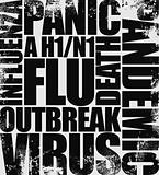 swine flu headline