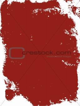 Grunge background red frame