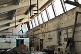 abandoned factory ruins
