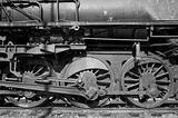 Old steam locomotive