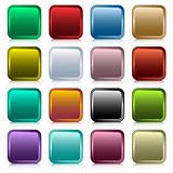 Web buttons square set