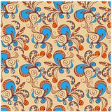 floral seamless pattern,  venecian colors
