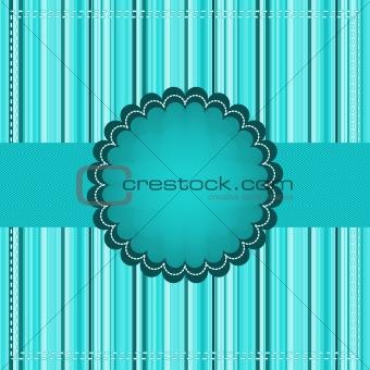 Frame design for greeting card. EPS 8
