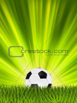 Football or soccer ball. EPS 8