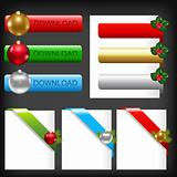Christmas Web Elements
