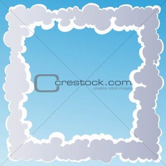 image 3521528 cloud frame from crestock stock photos